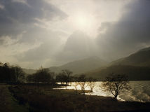 Snowdonia royalty-vrije stock fotografie