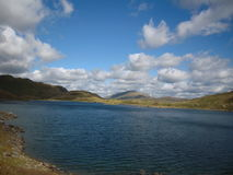 Snowdonia, beau Pays de Galles Pris des crêtes de Snowdonia Beau temps Photographie stock libre de droits