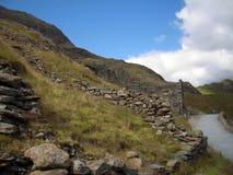 Snowdonia, beau Pays de Galles Pris des crêtes de Snowdonia Beau temps photos libres de droits