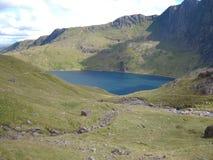 Snowdonia, beau Pays de Galles Pris des crêtes de Snowdonia Beau temps image stock