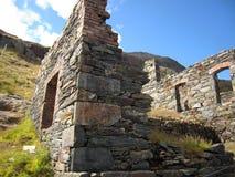 Snowdonia, beau Pays de Galles Pris des crêtes de Snowdonia Beau temps photo stock