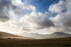 Snowdonia de bâti Snowdon, R-U Photographie stock
