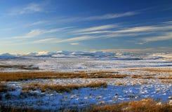 Snowdonia et ferme de vent du Denbigh Moores Photo stock