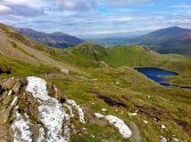 Snowdonia-Freude Lizenzfreie Stockfotografie