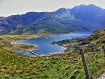 Snowdonia går Royaltyfri Bild
