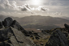 Snowdonia Mountains North Wales Royalty Free Stock Photos