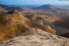 Snowdonia National Park Royalty Free Stock Photography