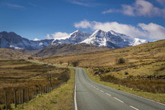 Snowdonia national park, Royalty Free Stock Photography