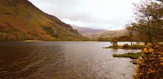 Snowdonia National Park, Lake.  North Wales, UK Stock Image