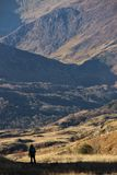Snowdonia national park. A landscape from Snowdonia (Eryri) national park in north Wales Royalty Free Stock Photo