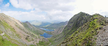 Snowdonia national park. Mountain in wales Royalty Free Stock Image