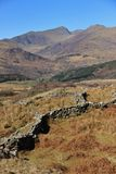 Snowdonia National Park. Scenic view of Snowdonia National Park in North Wales Stock Photos