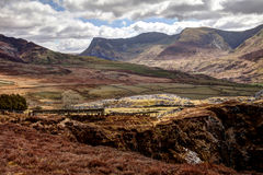 Snowdonia National Park Royalty Free Stock Photos