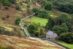SNOWDONIA NATIONAL PARK, WALES/UK - OCTOBER 7 : Cottage in Snowd Royalty Free Stock Images