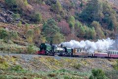 SNOWDONIA NATIONAL PARK, WALES/UK - OCTOBER 9 : Welsh Highland R Stock Image