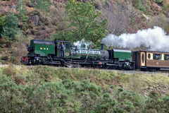SNOWDONIA NATIONAL PARK, WALES/UK - OCTOBER 9 : Welsh Highland R Royalty Free Stock Images