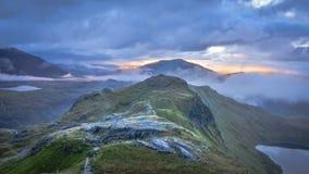 Snowdonia nationalpark fotografering för bildbyråer