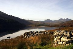 Snowdonia Nationalpark Stockfotografie