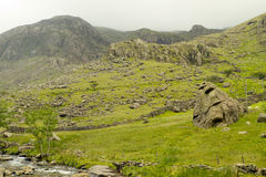 Snowdonia Nationalpark Stockbild