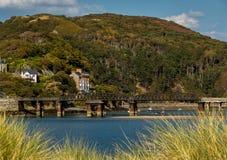 Snowdonia nationalpark i Wales UK Royaltyfri Fotografi