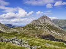 Snowdonia nationalpark Wales UK Arkivbild