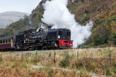 SNOWDONIA-NATIONALPARK, WALES/UK - OKTOBER 9: Walesisk högland R Royaltyfri Foto
