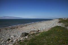 Snowdonia norr Wales - sjösida arkivbilder