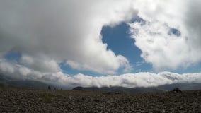 Snowdonia panoramic view stock video footage