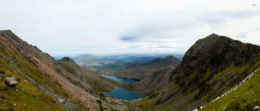Snowdonia panoramico Fotografia Stock
