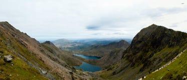 Snowdonia Panoramiczny zdjęcie stock