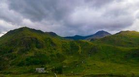 Snowdonia park narodowy niebo, właśnie Obrazy Royalty Free