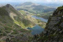 Snowdonia parka narodowego krajobraz Obrazy Stock