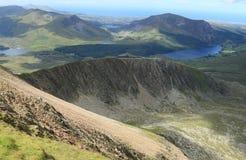 Snowdonia parka narodowego krajobraz Zdjęcie Royalty Free