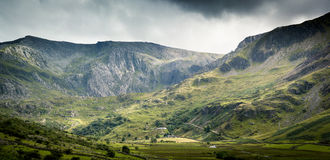 Snowdonia-Szene Stockbild