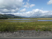 Snowdonia. View of Snowdonia from porthmadog Stock Photography
