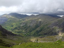 Snowdonia. View from Snowdon Royalty Free Stock Photography