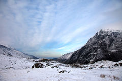 Snowdonia in Winter Royalty Free Stock Images