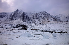 Snowdonia in Winter Royalty Free Stock Image