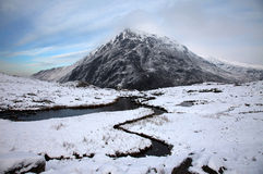 Snowdonia in Winter Royalty Free Stock Photography
