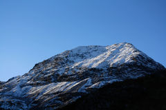 Snowdoniabergketen Royalty-vrije Stock Foto's