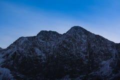 Snowdoniabergketen Stock Foto