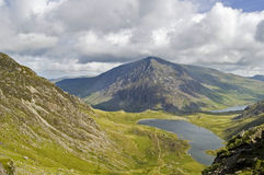 Snowdonian View. View of the snowdonian landscape north wales stock image
