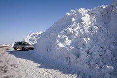 snowdrift fotografia stock libera da diritti