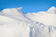 Snowdrift Royalty Free Stock Image