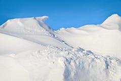 Snowdrift imagem de stock royalty free