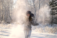 Snowdrift Stock Images