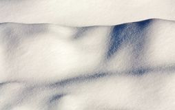 Snowdrift Royalty Free Stock Photography