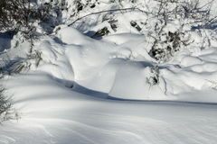 Snowdrift Royalty Free Stock Images