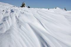 snowdrift lizenzfreies stockfoto