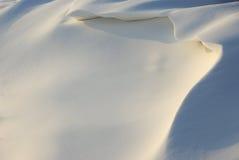snowdrift fotografia stock